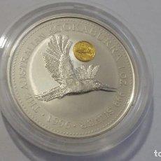 Medaglie storiche: AUSTRALIA-MONEDA UNA ONZA 1996 KOOKABURRA PLATA SC UNC ( P224 ). Lote 214234526