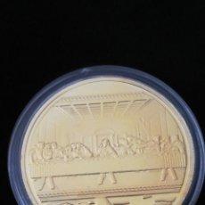 Medallas históricas: MONEDA CRISTO Y LA ÚLTIMA CENA. Lote 233455615