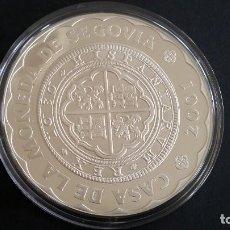 Medaglie storiche: ESPANA-MONEDA 10000 PESETAS 2001 CASA DE LA MONEDA DE SEGOVIA PLATA SC UNC ( P284). Lote 214285125