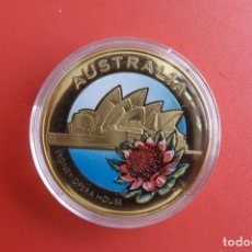 Medallas históricas: AUSTRALIA COLLECTION MEDALLA * BRONCE/COLOR 2010 * SYDNEY OPERA HOUSE. Lote 214624586