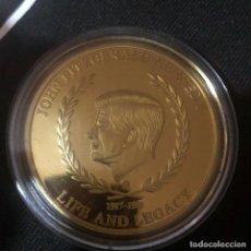 Medallas históricas: MEDALLA J. F. KENNEDY PRESIDENTE USA 40 MM . VER FOTOS. Lote 214627936
