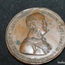 Medallas históricas: MEDALLA , CUÁDRUPLE ALIANZA, 1823, BRONCE. Lote 215156891