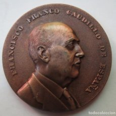 Medallas históricas: MEDALLA CONMEMORATIVA 1ER ANIVERSARIO MUERTE FRANCISCO FRANCO 1976. Lote 215299591