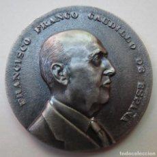 Medallas históricas: MEDALLA CONMEMORATIVA 1ER ANIVERSARIO MUERTE FRANCISCO FRANCO 1976. Lote 215299812