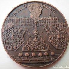 Medallas históricas: MEDALLA CONMEMORATIVA 4º ANIVERSARIO MUERTE FRANCISCO FRANCO 1979. Lote 215300188