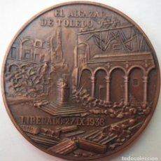 Medallas históricas: MEDALLA CONMEMORATIVA 6º ANIVERSARIO MUERTE FRANCISCO FRANCO 1981. Lote 215300296