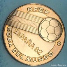 Médailles historiques: MEDALLA MONEDA ESPAÑA 82 SEDES DEL MUNDIAL. Lote 216361446