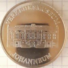 Medallas históricas: MEDALLA DEL MUSEO DEL TRANSPORTE DE JOHANNEUM - DRESDE. Lote 216376531