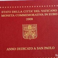 Médailles historiques: VATICANO- CARTERA 2 EUROS 2008 SC UNC ( X008 ). Lote 216689261