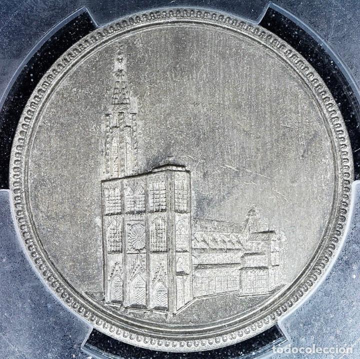 MEDALLA PCGS SP63 IMPERIO ALEMÁN CATEDRAL ESTRASBURGO - SIN CIRCULAR (Numismática - Medallería - Histórica)