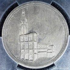 Medallas históricas: MEDALLA PCGS SP63 IMPERIO ALEMÁN CATEDRAL ESTRASBURGO - SIN CIRCULAR. Lote 216712380