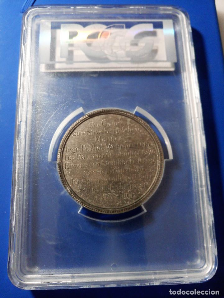 Medallas históricas: Medalla PCGS SP63 Imperio Alemán Catedral Estrasburgo - Sin Circular - Foto 5 - 216712380