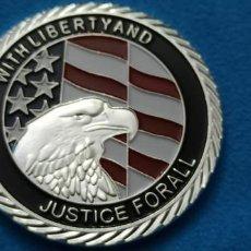 Médailles historiques: 11 SEPTIEMBRE 2001 UNIDOS ESTAMOS- CON LIBERTAD Y JUSTICIA PARA TODOS.. Lote 216830568