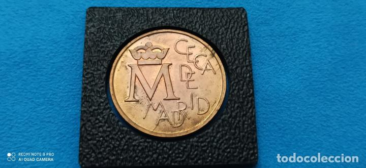 Medallas históricas: Medalla Bodas de Plata S.M. Juan Carlos I y S.M. Sofia 1962- 1987 Reyes de España - Foto 2 - 216830733