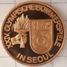 Medalhas históricas: MEDALLA XXIV JUEGOS OLIMPICOS DE SEUL (MARATON). Lote 216858340