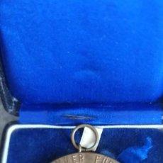 Medallas históricas: MEDALLA BRONCE PARA LAS PRESTACIONES EN LÀ CUNICULTURA PROVINCIA RIN ALEMANIA 50 MM. SET. VER FOTOS. Lote 216932198