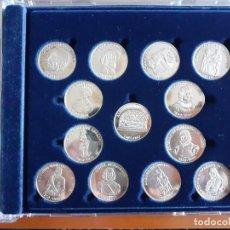 Médailles historiques: MEDALLAS DE PLATA 925 GUIPUZCOANOS UNIVERSALES. Lote 217155673