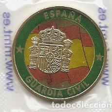 Medallas históricas: ESPAÑA 2019. MEDALLA 175 ANIVERSARIO DE LA GUARDIA CIVIL. HECHA EN LA FNMT. EN SU FUNDA DE PLASTICO. Lote 217346997