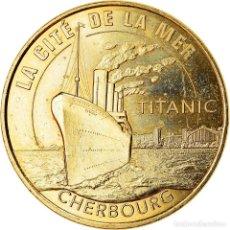Medalhas históricas: [#910128] FRANCIA, TOKEN, CHERBOURG - CITÉ DE LA MER - LE TITANIC, 2018, MDP, SC. Lote 217488570