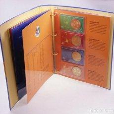 Medallas históricas: FUTBOL ALBUM COMPLETO 32 MEDALLAS 2008 AUSTRIA EUROCOPA AUSTRIA / SUIZA. VER FOTOS. Lote 218494906