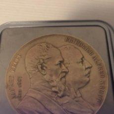 Medallas históricas: MEDALLA 1892 ALFRED KRUPP & FRIEDRICH ALFRED KRUPP BRONCE. Lote 218839270
