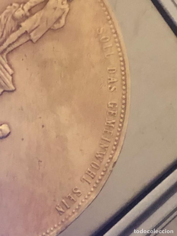 Medallas históricas: Medalla 1892 Alfred Krupp & Friedrich Alfred Krupp bronce - Foto 6 - 218839270