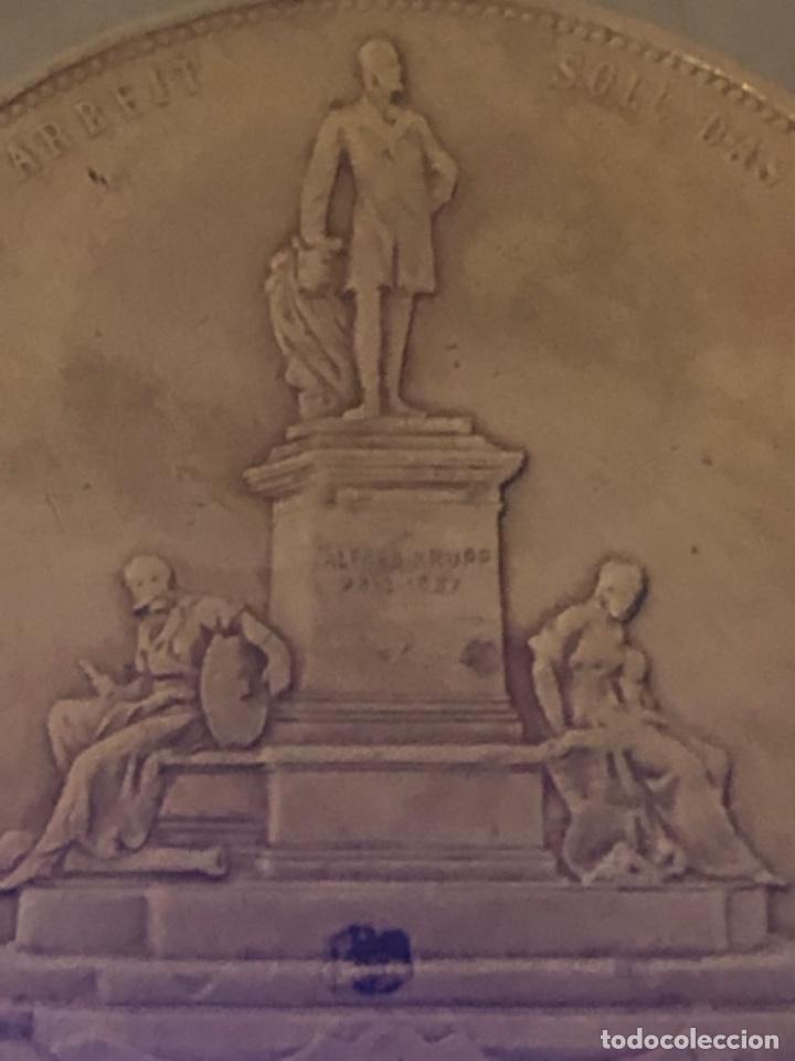 Medallas históricas: Medalla 1892 Alfred Krupp & Friedrich Alfred Krupp bronce - Foto 7 - 218839270