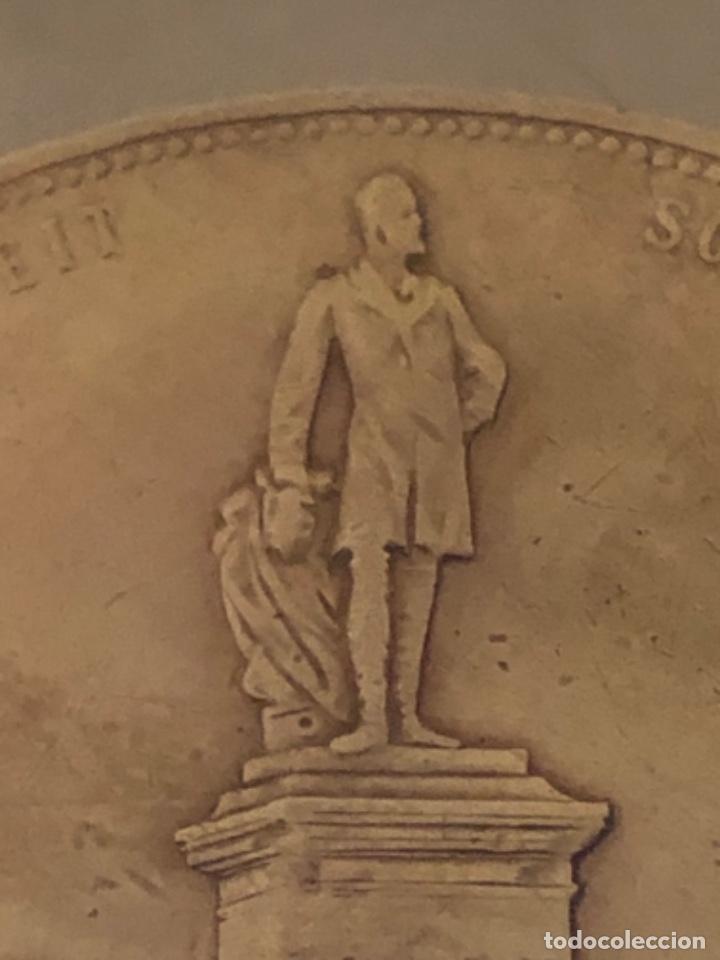 Medallas históricas: Medalla 1892 Alfred Krupp & Friedrich Alfred Krupp bronce - Foto 9 - 218839270
