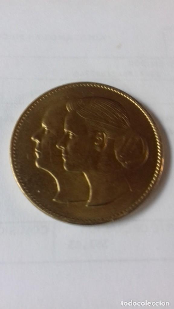 MEDALLA DE LOS REYES DE MONACO (Numismática - Medallería - Histórica)