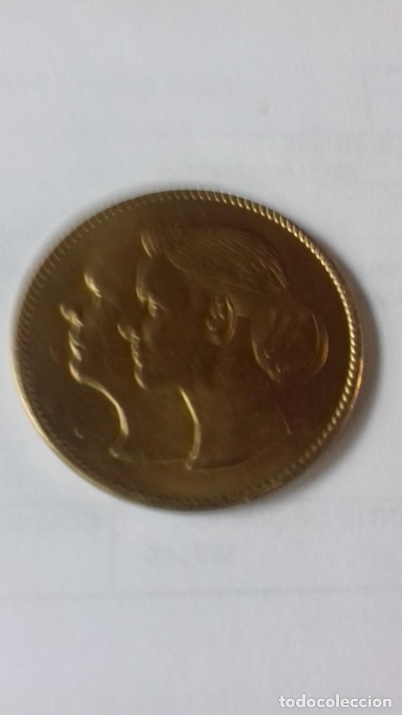 Medallas históricas: Medalla de los reyes de Monaco - Foto 2 - 218974103