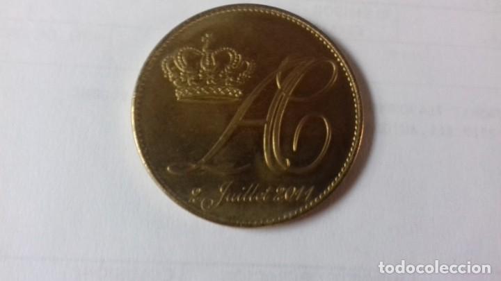 Medallas históricas: Medalla de los reyes de Monaco - Foto 6 - 218974103