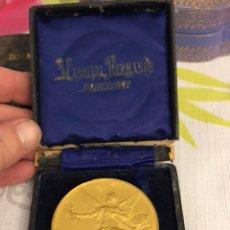 Medallas históricas: MAGNIFICA MEDALLA EXPOSICIÓN REGIONAL DE LUGO, 1 PREMIO. Lote 219335092