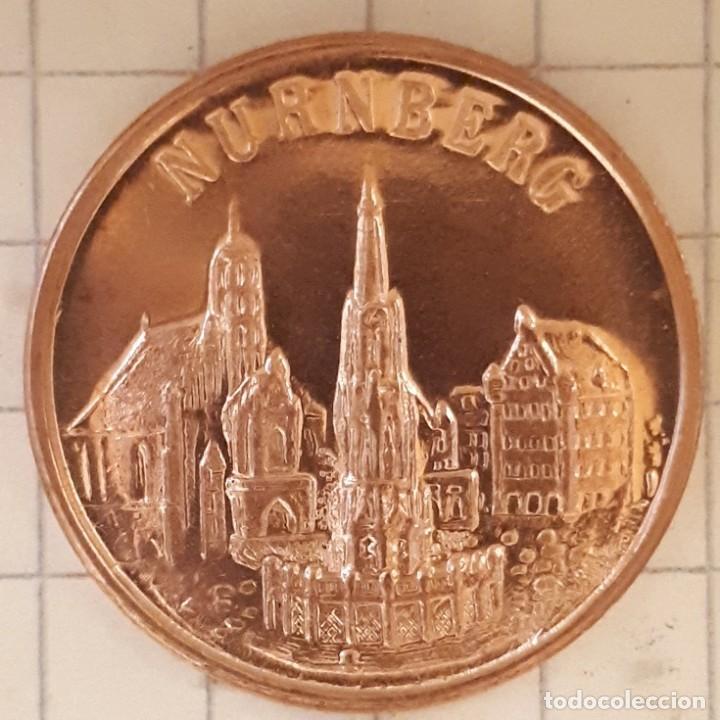 Medallas históricas: MEDALLA CONMEMORATIVA DEL NACIMIENTO DE ALBRECHT DURER - DISEÑO 3 - Foto 3 - 219390177