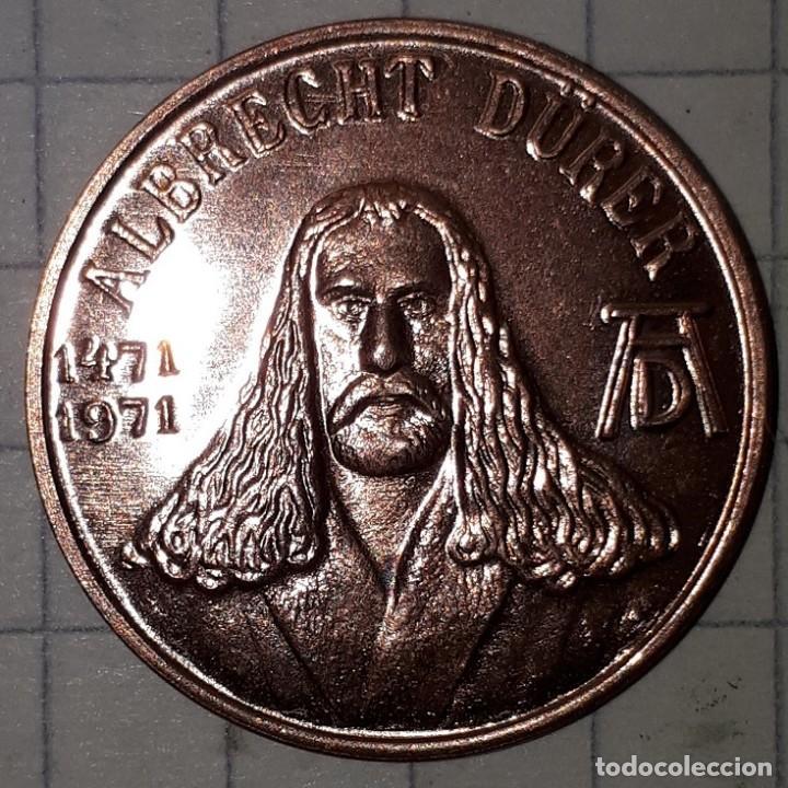 Medallas históricas: MEDALLA CONMEMORATIVA DEL NACIMIENTO DE ALBRECHT DURER - DISEÑO 3 - Foto 4 - 219390177