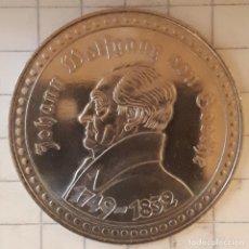 Medallas históricas: MEDALLA JOHANN WOLFGANG VON GOETHE. Lote 219506173