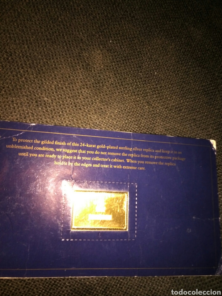 Medallas históricas: LINGOTE PLATA BAÑO DE ORO THE AMERICAN DREAM 1492-1992 - Foto 3 - 221294266
