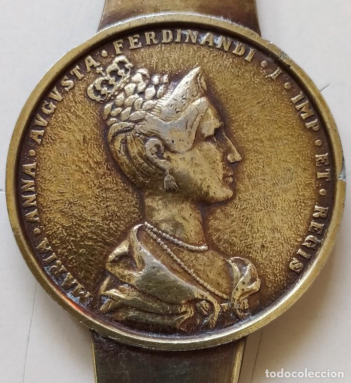 Medallas históricas: MEDALLA EN ABRECARTAS SOLINGEN ANTIGUA - Foto 3 - 221314255