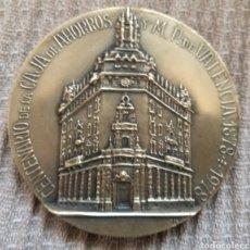Medallas históricas: MEDALLA CONMEMORATIVA EN BRONCE CENTENARIO CAJA DE AHORROS DE VALENCIA 1878 - 1978. Lote 221571463