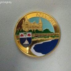 Medallas históricas: FRANCIA, TOKEN, JETÓN TURÍSTICO, SOUVENIRS ET PATRIMOINE, PORNICHET. Lote 221732316