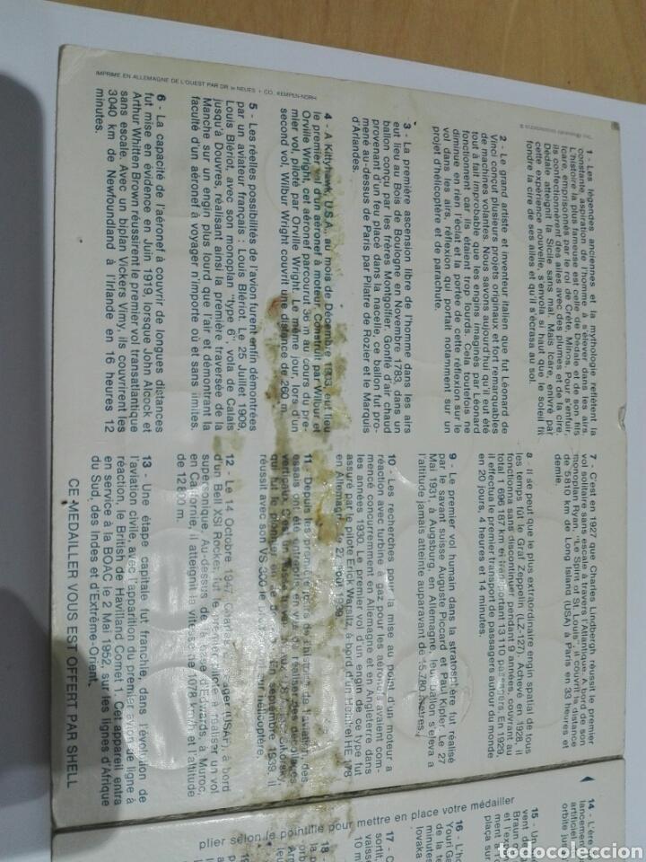 Medallas históricas: MEDALLAS FICHA SHELL 1969 COLECCION COMPETA LA EPOCA DEL ESPACIO. 20 UNIDADES Y EXPOSITOR - Foto 5 - 222193161