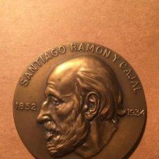 Medallas históricas: ANTIGUA MEDALLA SANTIAGO RAMON Y CAJAL 1852 - 1934 CONSEJO SUPERIOR DE INVESTIGACIONES CIENTIFICAS -. Lote 222547667