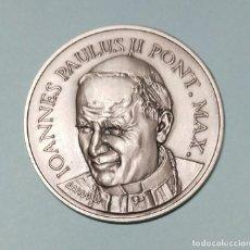 Medallas históricas: MEDALLA JUAN PABLO II, XXV ANIVERSARIO DEL PONTIFICADO 1978 - 2003. Lote 222841257