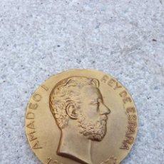 Medallas históricas: AMADEO I REY DE ESPANA 1870 -1873.. Lote 222999826