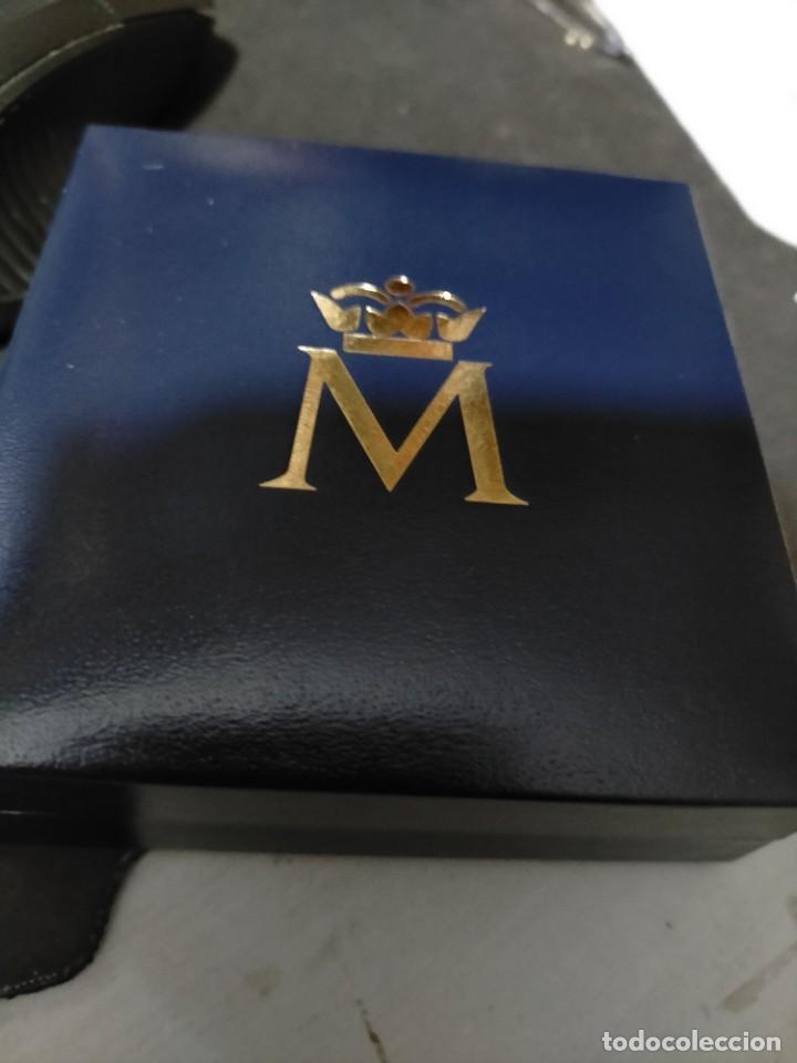 Medallas históricas: FELIPE VI PROCLAMACION MEDAL 2014- 4 CTMS. 23.35 GRMS RARA - Foto 3 - 223262845