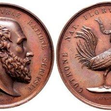 Medallas históricas: ITALIA. FERDINANDO II. MEDALLA. 1832. NÁPOLES. GRABADORES: VINCENZO CATENACCI Y ACHILLE ARNAUD. SC. Lote 224279191