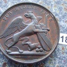 Medallas históricas: ANTIGUA MEDALLA CONDECORACIÓN 1839 - 1871 BADEN GRAN DUCADO LEOPOLD MEDALLA 31 MM/CARACTERES HONOR. Lote 225317030