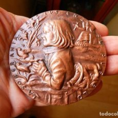 Medallas históricas: CONSTITUCIÓN ESPAÑOLA 1978 MEDALLA DE LA F.N.M.T. Lote 226009390
