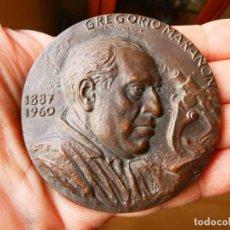 Medallas históricas: MEDALLA CONMEMORATIVA HOMENAJE A GREGORIO MARAÑON 1887 1960. Lote 226012465