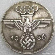 Medallas históricas: ESPECTACULAR MONEDA OLIMPIADAS DE BERLIN 1936. Lote 226674585