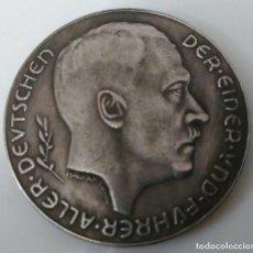 Medallas históricas: ESPECTACULAR MONEDA ADOLF HITLER. Lote 226679435